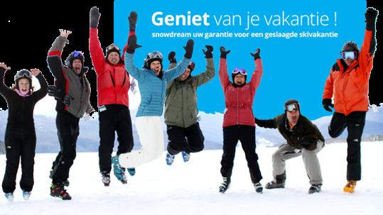 Snowdream: uw garantie voor een geslaagde skivakantie!