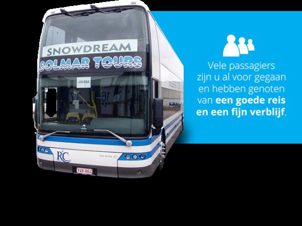 Skivakantie met bus SNOWDREAM