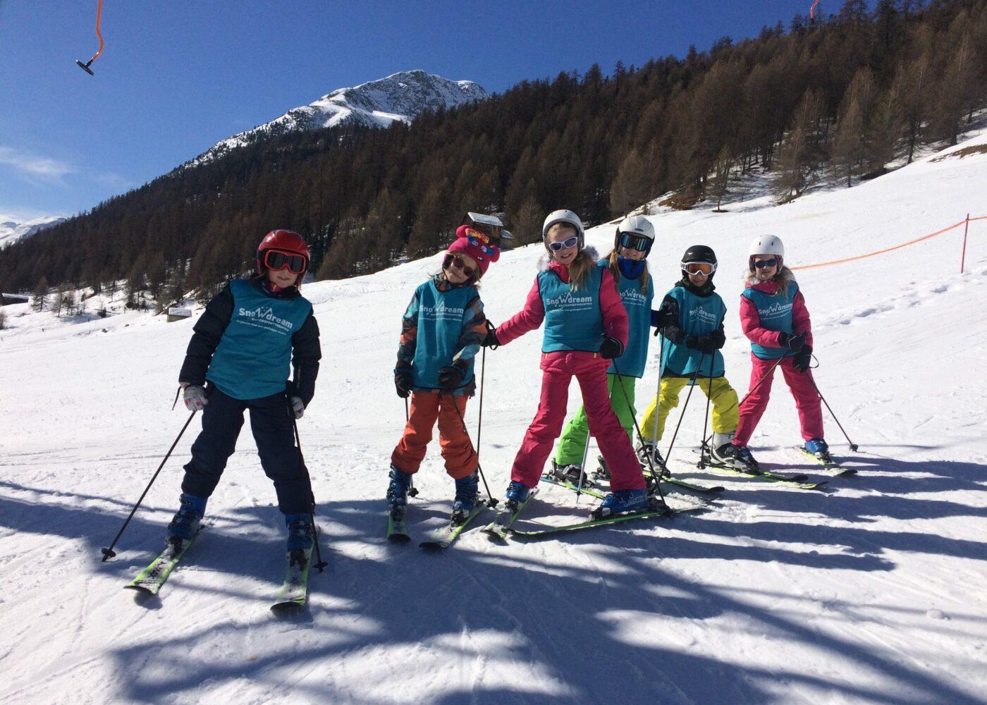 skivakantie familie kinderen