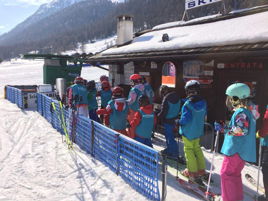 skivakantie familie met kinderen