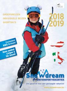 Wintercatalogus Snowdream 2018-2019