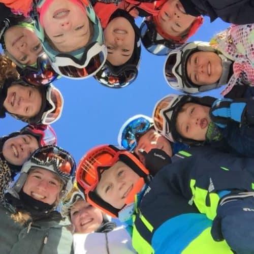groepsfoto ski Livigno