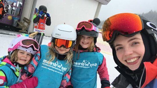 Skivakantie kids